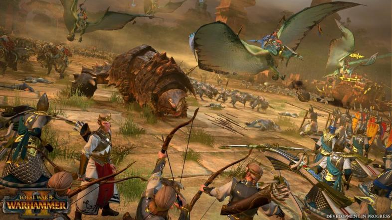 Warhammer 2 will pit dinosaurs against elves and more!