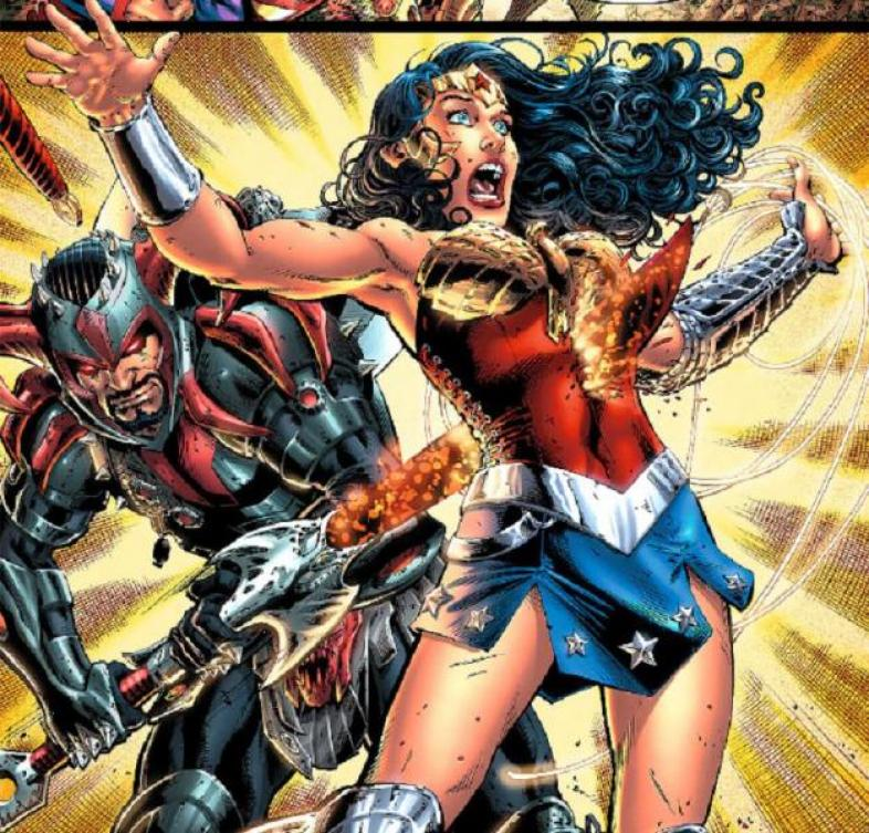 Steppenwolf killing Wonder Woman