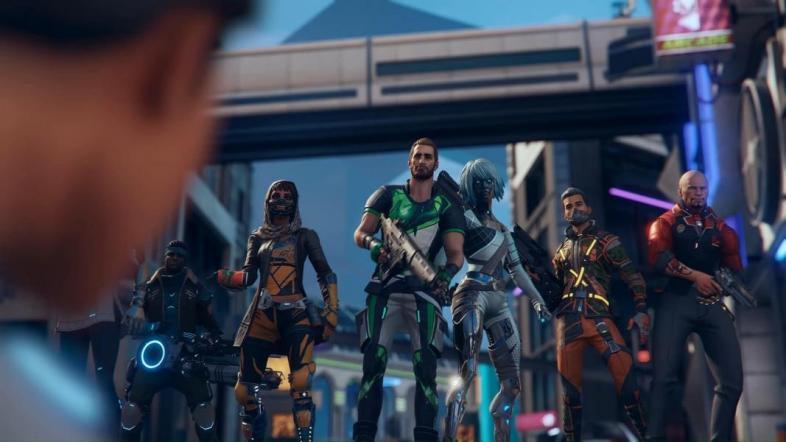 Hyper Scape's Faction War brings 24-man teams to battle royale