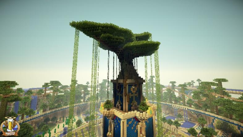7 Minecraft Wonders of the World