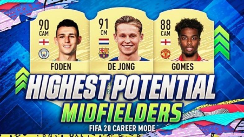 FIFA 20 best young midfielders.