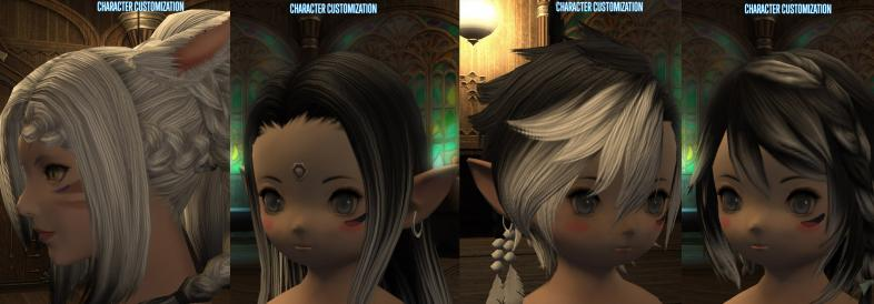 FF14 How To Change Hairstyle