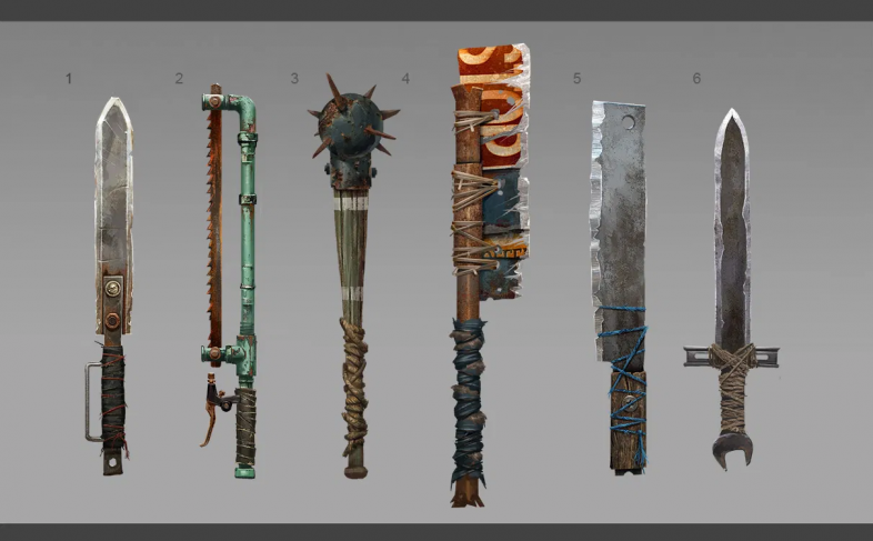 Rust Best Early Game Weapon, best rust primitive weapons
