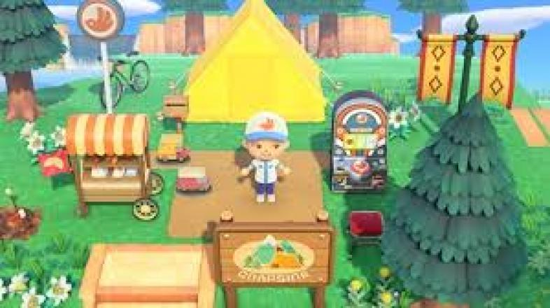 Multiple little ways to decorate your island - from custom designs to in-game furniture.