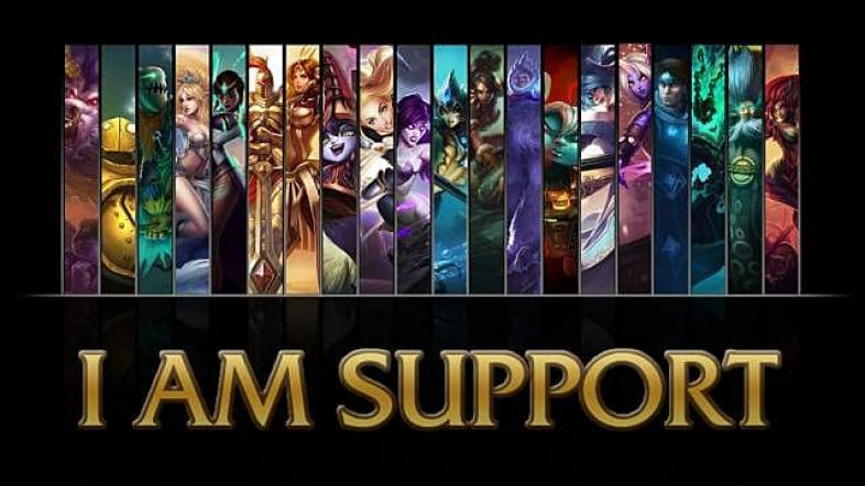 League of Legends how to support