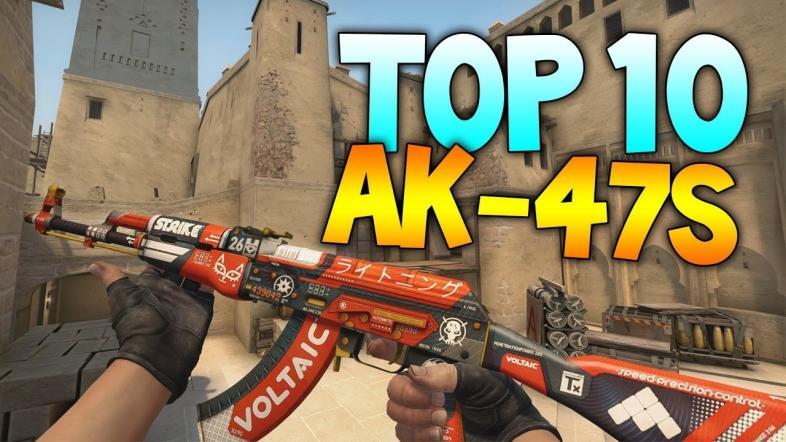 Top 10 Cs Go Ak47 Skins Best Csgo Ak 47 Skins Gamers Decide