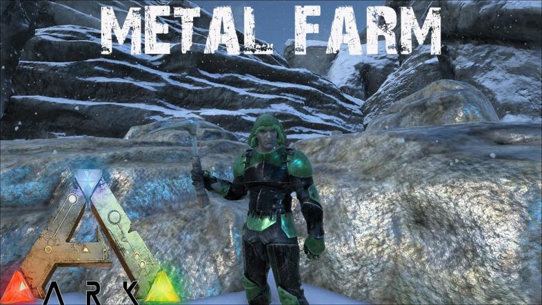 Ark Survival Best Way to Get Metal