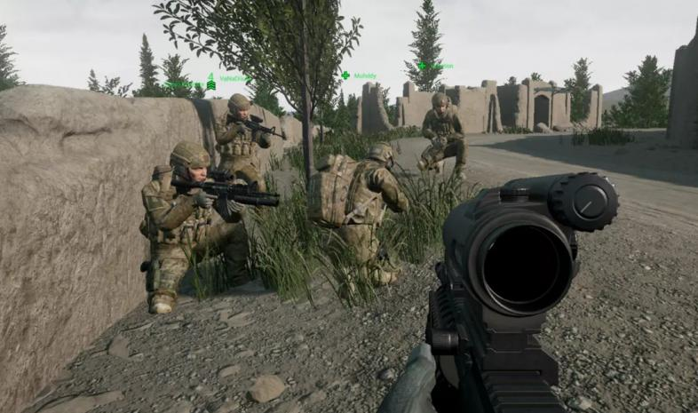 military shooter games