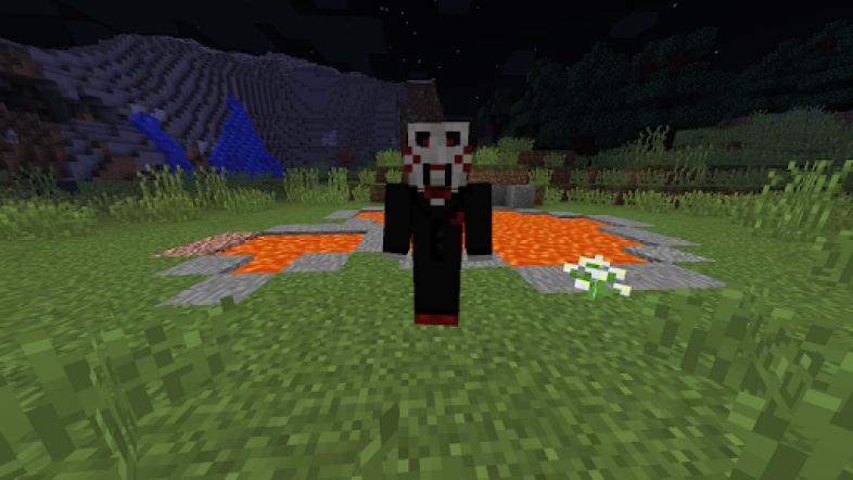 Minecraft Horror Movie Monsters Mod - Billy From Saw