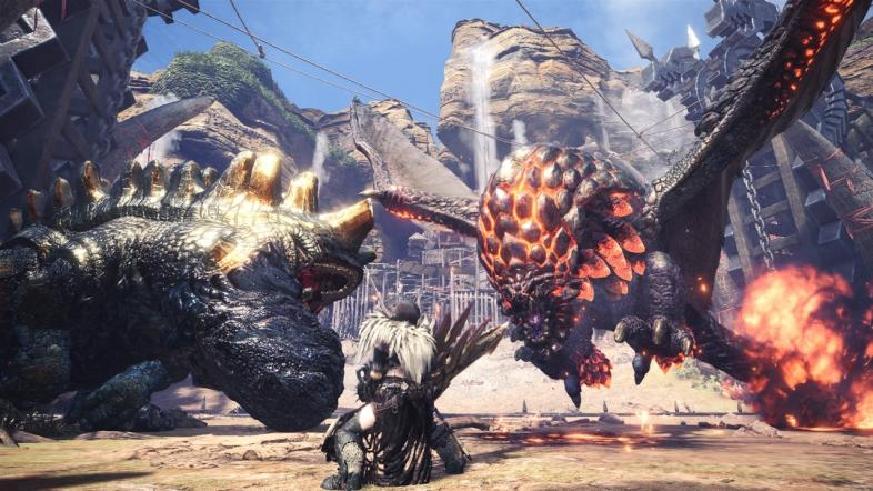 Games Like Monster Hunter World
