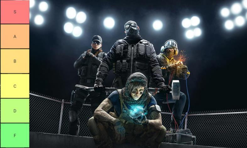 Rainbow 6 siege tier list 2019