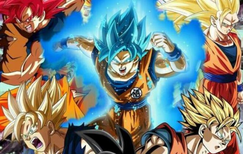 Goku Super Saiyan All Transformations
