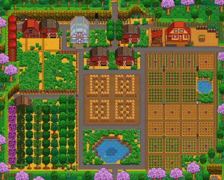 Best Stardew Valley Farm Layouts