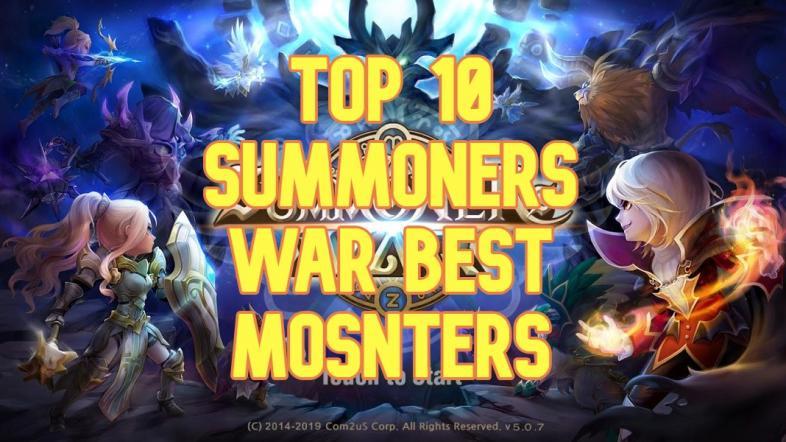 Top 10 Summoners War Best Monsters | GAMERS DECIDE