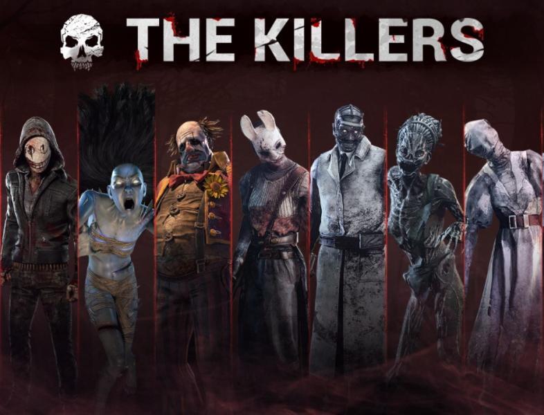 dbd best killers, dead by daylight best killers
