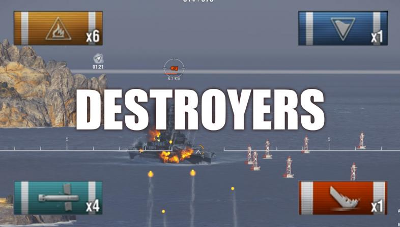 World of Warships Best Destroyers