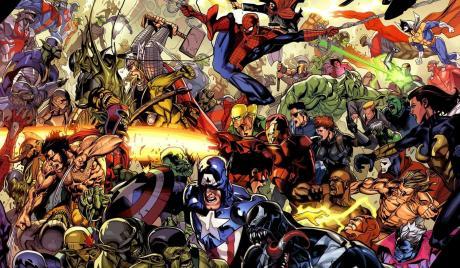 most popular superheroes