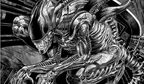 Comics with Aliens, alien comics