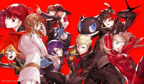 Persona 5 Royal Best Party
