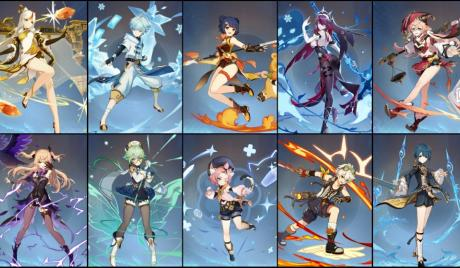 Genshin Impact Best 4 Star Characters