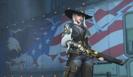 Overwatch Best Ashe Skin