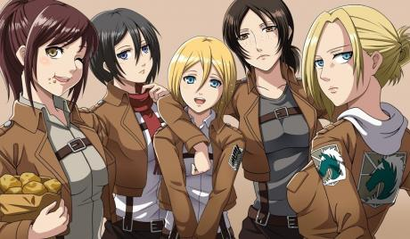 Best girls attack on titan