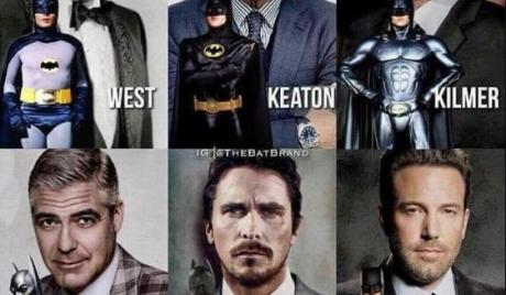 Who amongst these men is the best Batman actor?