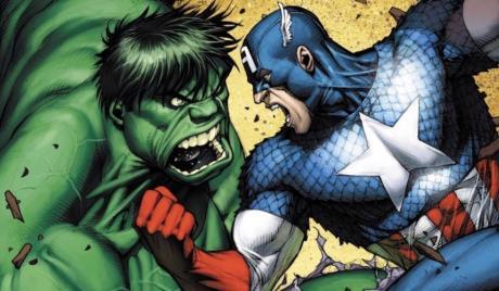 Captain America vs. Hulk