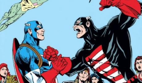 Captain America vs. US Agent