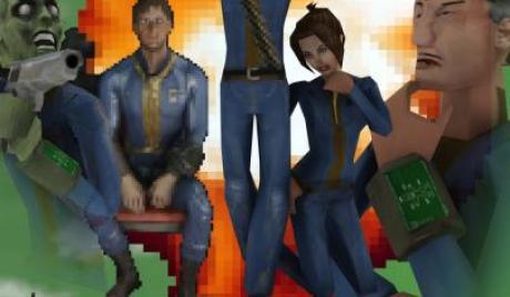 Fallout 4 90's shooter mod