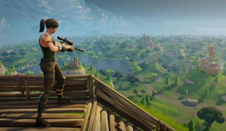 Fornite Battle Royale Gameplay