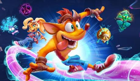New Crash Bandicoot from Toys for Bob