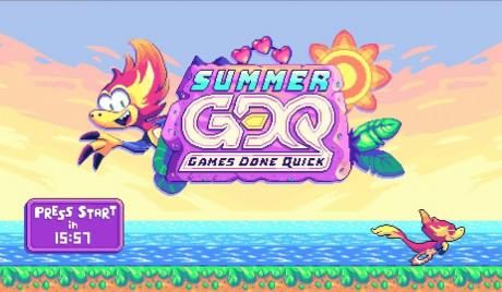 Summer Games Done Quick starts this weekend will donate proceeds to charity
