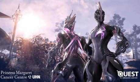 Warframe Raises Over $75k In Its Quest to Conquer Cancer