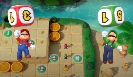 Super Mario Party Best Dice