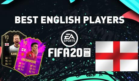 Best English Players In FIFA 20