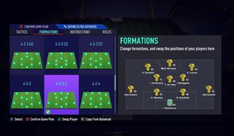FIFA 22, FIFA Formations, FIFA Tactics, Football, Top 10, FIFA Gameplay