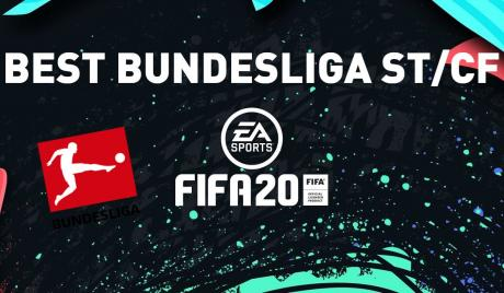 FIFA 20 amazing Bundesliga strikers