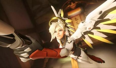 overwatch, Mercy, healer, support, skin, best skins, cosmetics