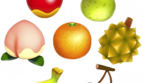Animal Crossing New Horizons fruits