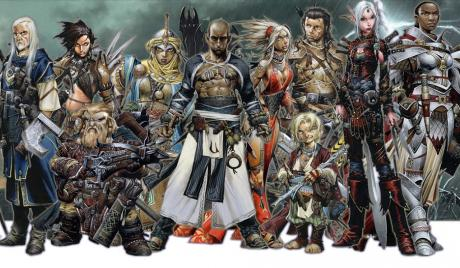 pathfinder, tabletop roleplaying game, d&d, best classes