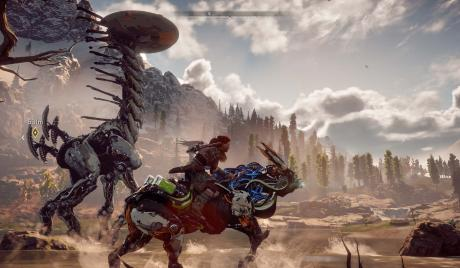 Horizon Zero Dawn Best Mount