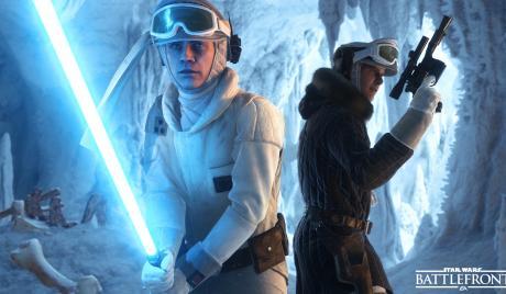 Luke Skywalker, Han Solo, Hoth