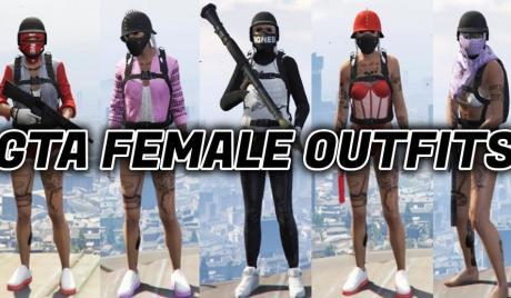 GTA 5 girl outfits