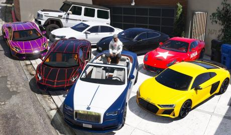 Cars in GTA 5