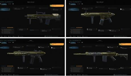 CoD Modern Warfare Best Assault Rifles