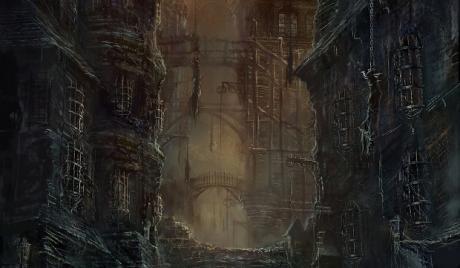 Bloodborne Game art
