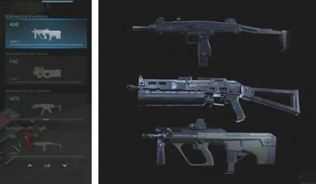 CoD Modern Warfare Best SMGs