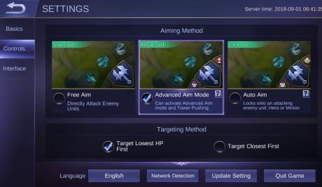 Mobile Legends Best Aiming Method