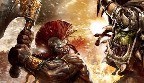 Warhammer Dwarf and Orc